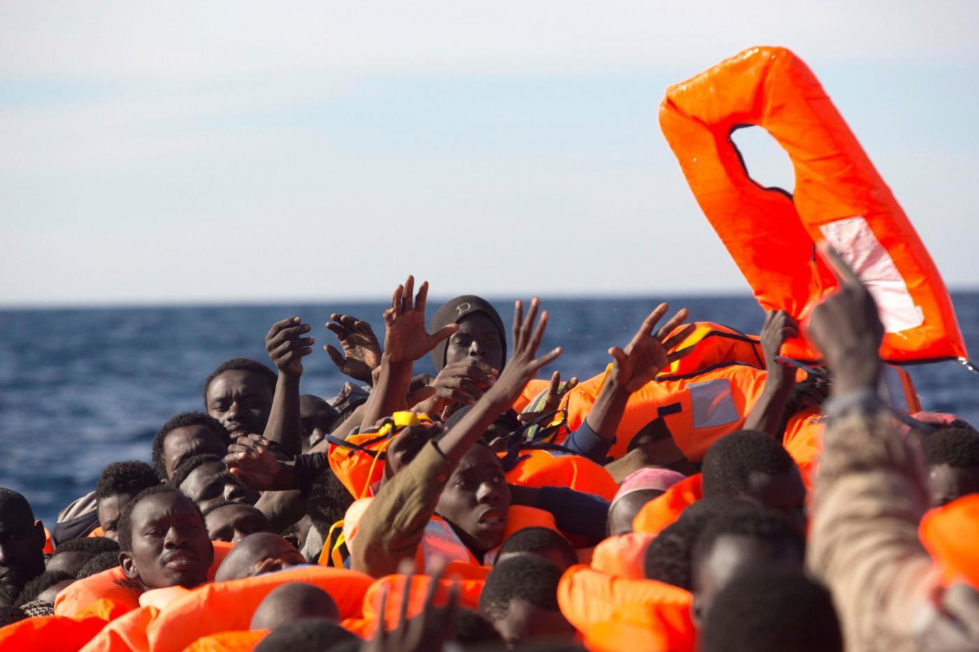 Migranti, operazione di salvataggio a nord della citta costiera libica di Sabratha
