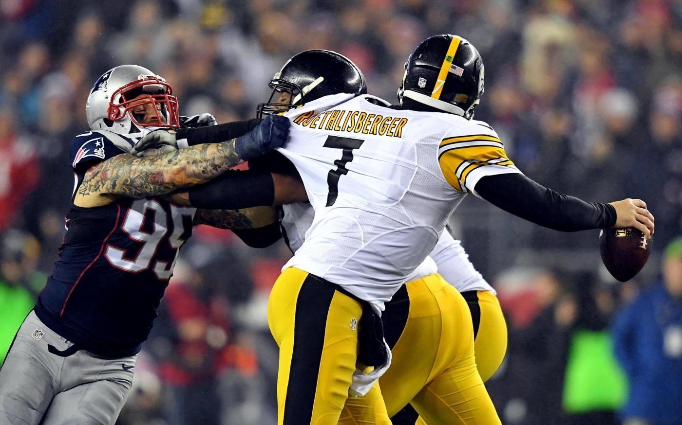 Football NFl, i New England Patriots battono Pittsburgh e volano al Superbowl