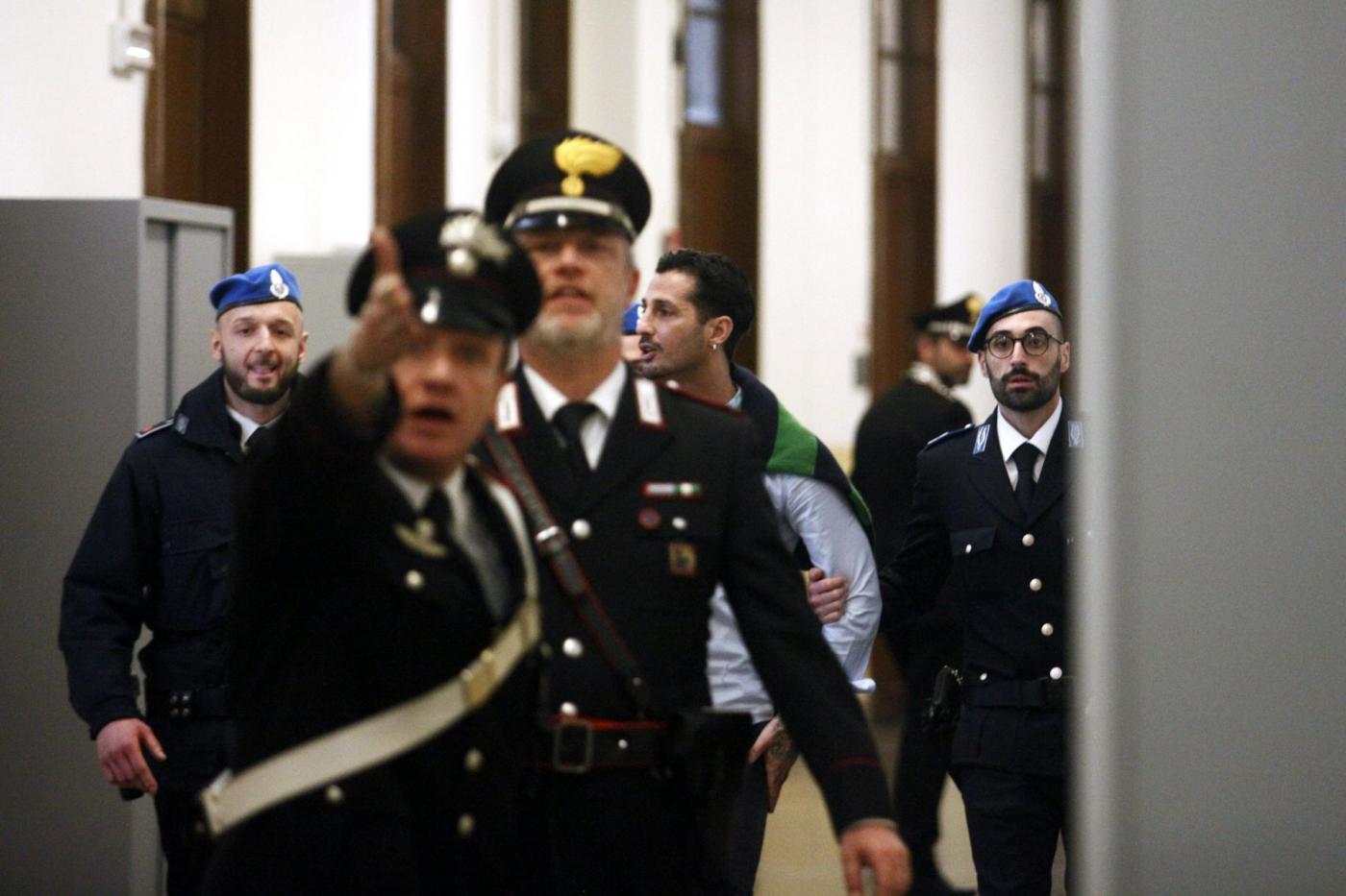 Milano, processo Fabrizio Corona