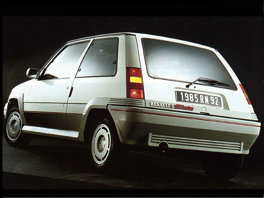 le auto sportive più pericolose - Renault 5 GT Turbo 2
