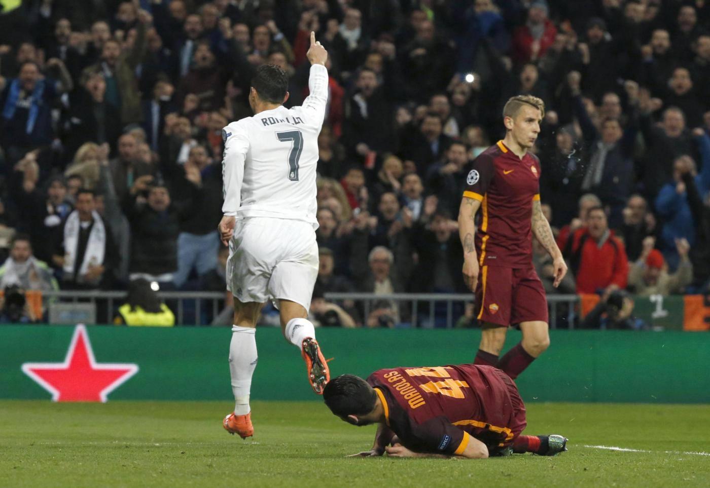 Real Madrid vs Roma Champions League 2015/2016