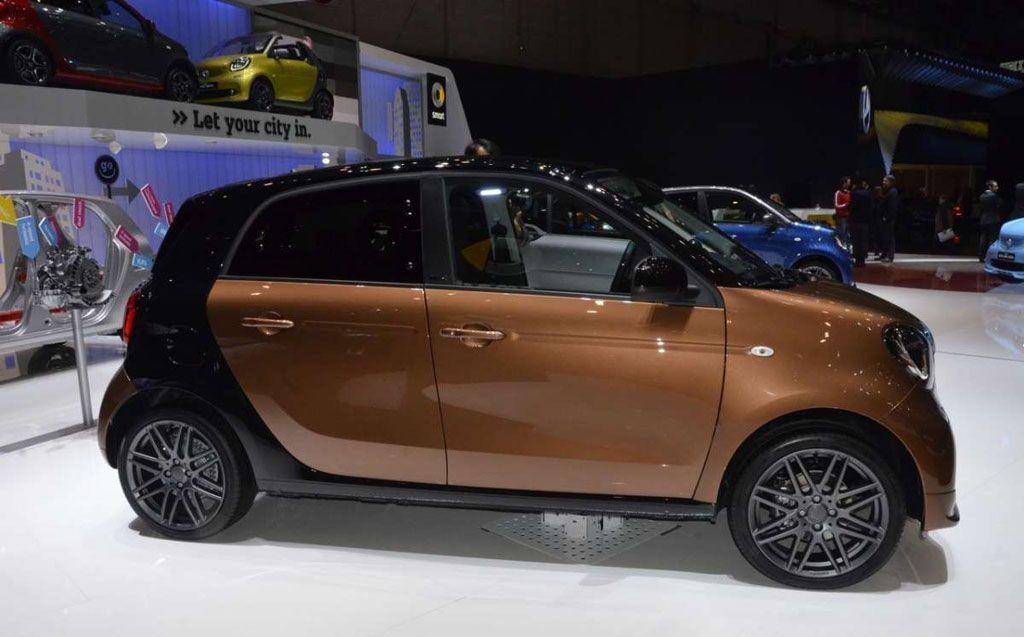 Le migliori auto del segmento A - Smart ForFour