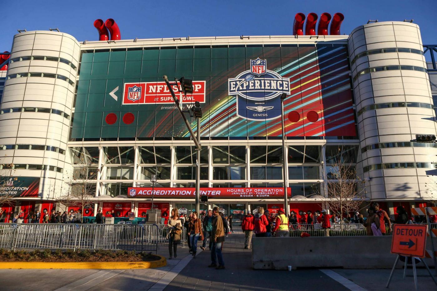 Houston, il Super Bowl LI è già nell'aria la Opening Night