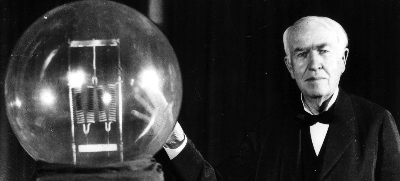 Lampadina A Incandescenza Storia thomas alva edison: geniale inventore, rivoluzionario e