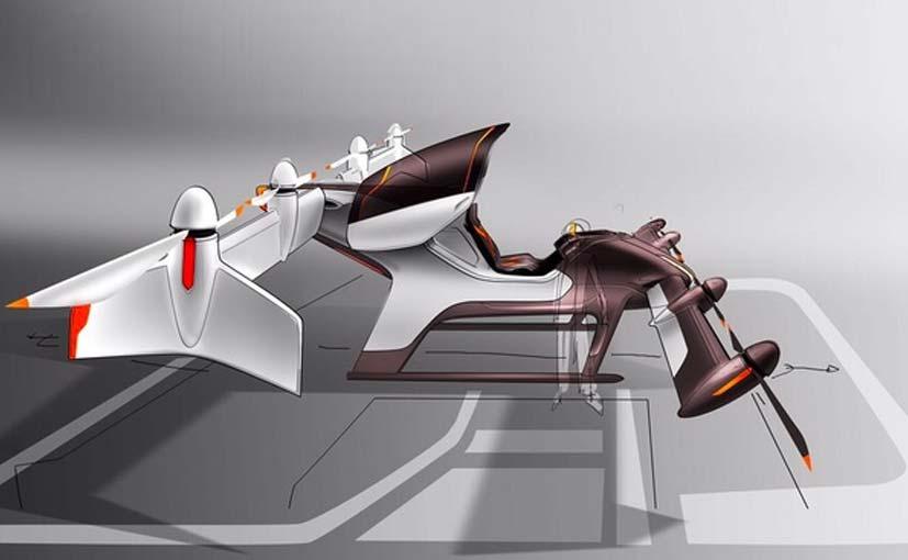 auto volante robot airbus vahana