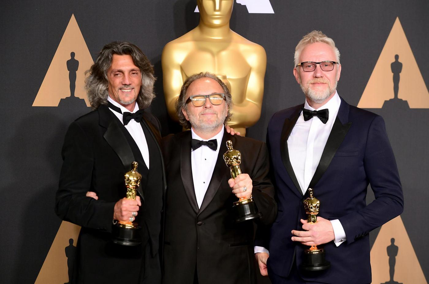 Oscar 2017: Alessandro Bertolazzi e Giorgio Gregorini miglior make-up
