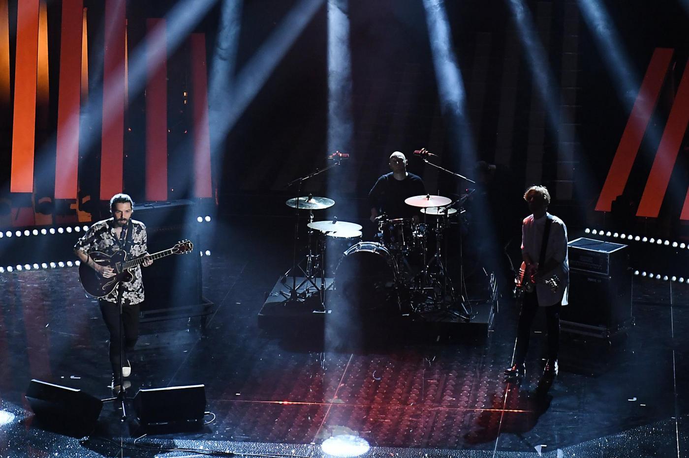 Biffy Clyro a Sanremo 2017, l'esibizione con il singolo Re-arrange