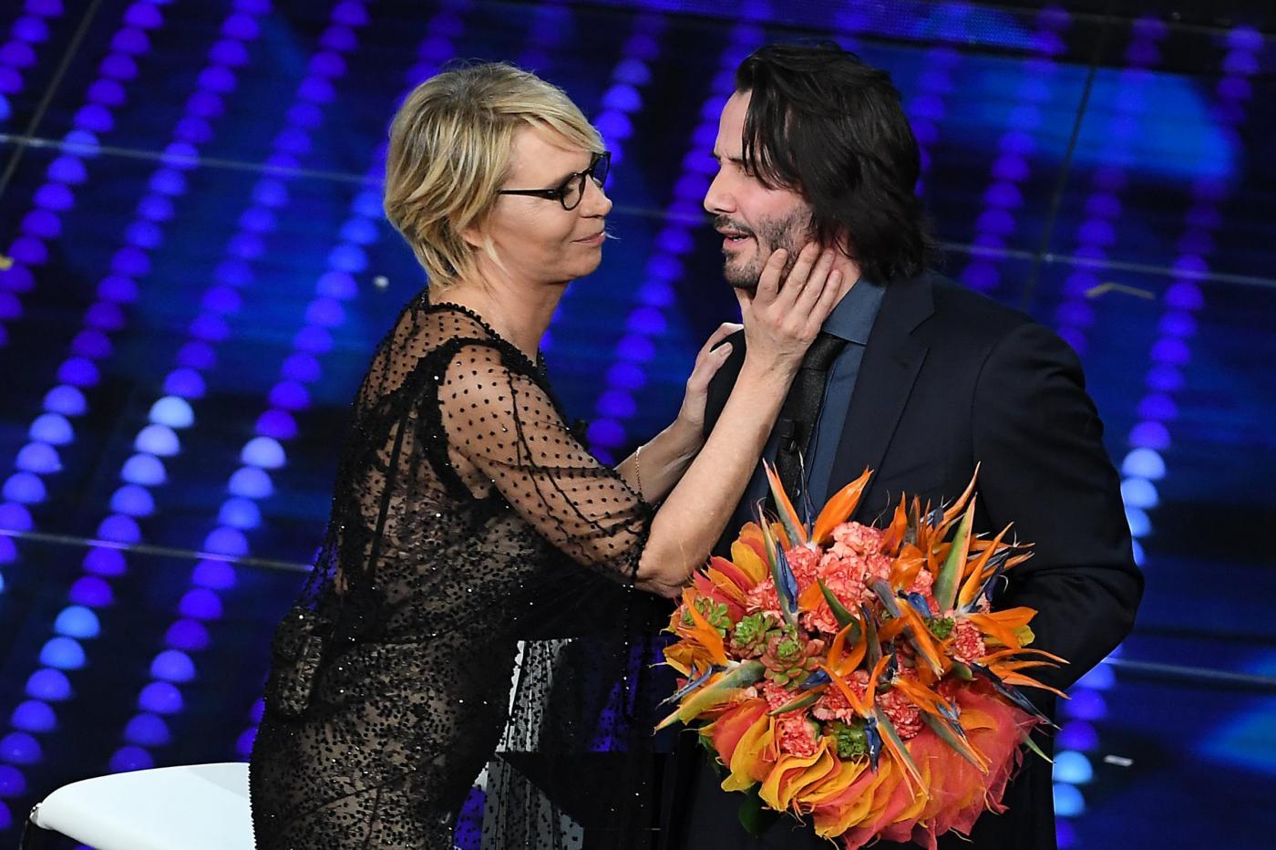 Sanremo 2017, ascolti seconda serata: 46,6% di share, leggero calo