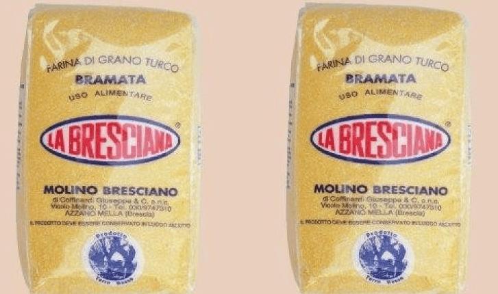 Ritiro prodotti: farina di mais gialla bramata La Bresciana a rischio micotossine
