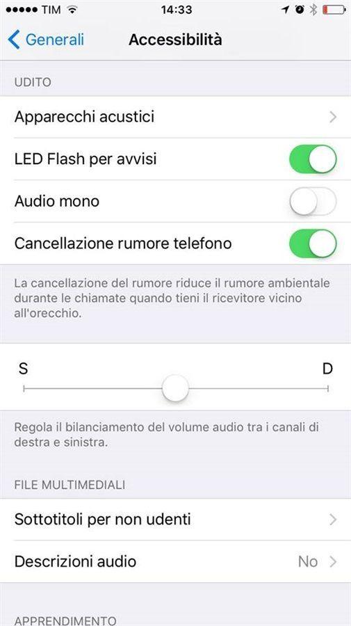 led notifica