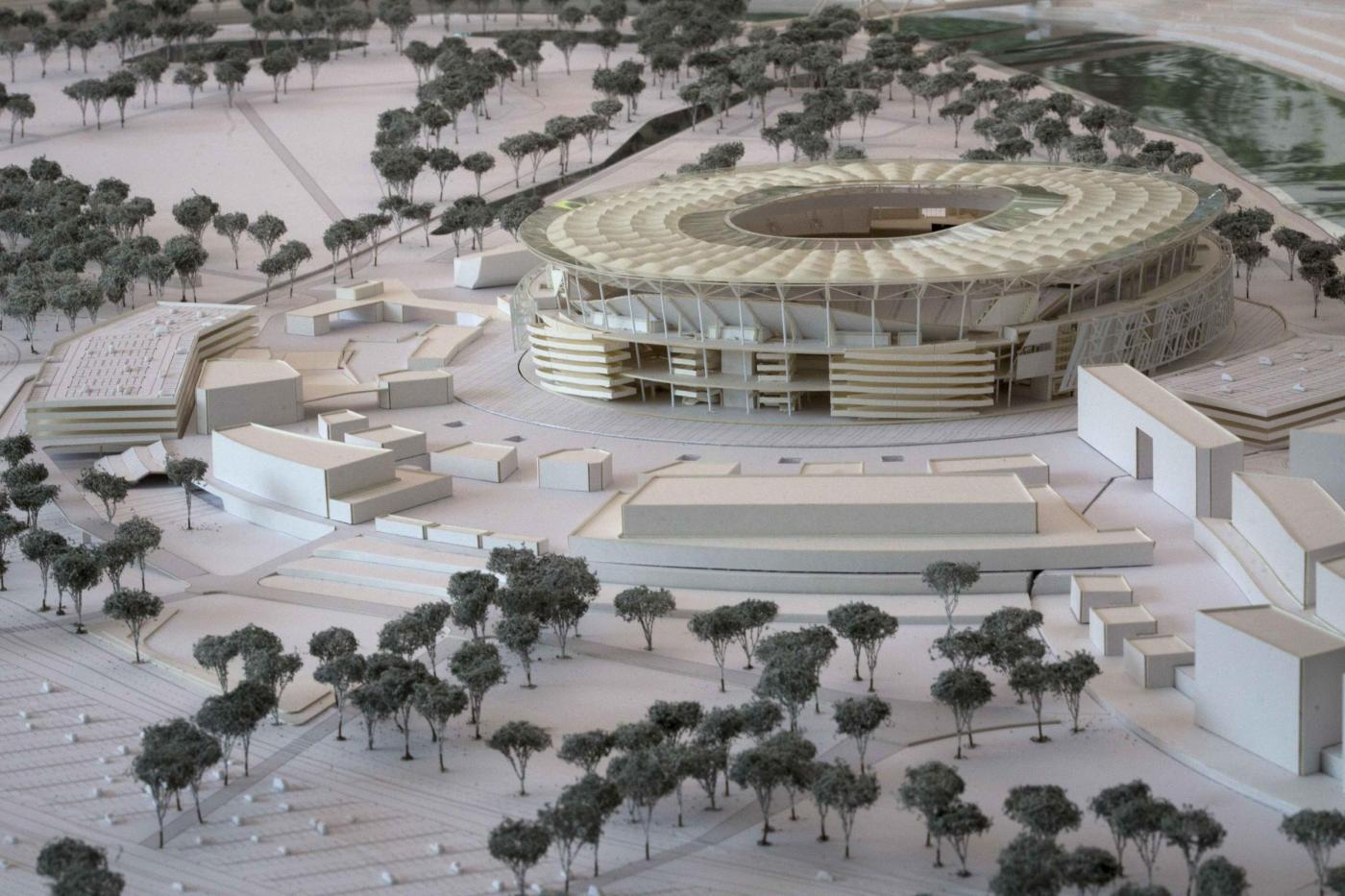 Presentazione del progetto del nuovo stadio della Roma
