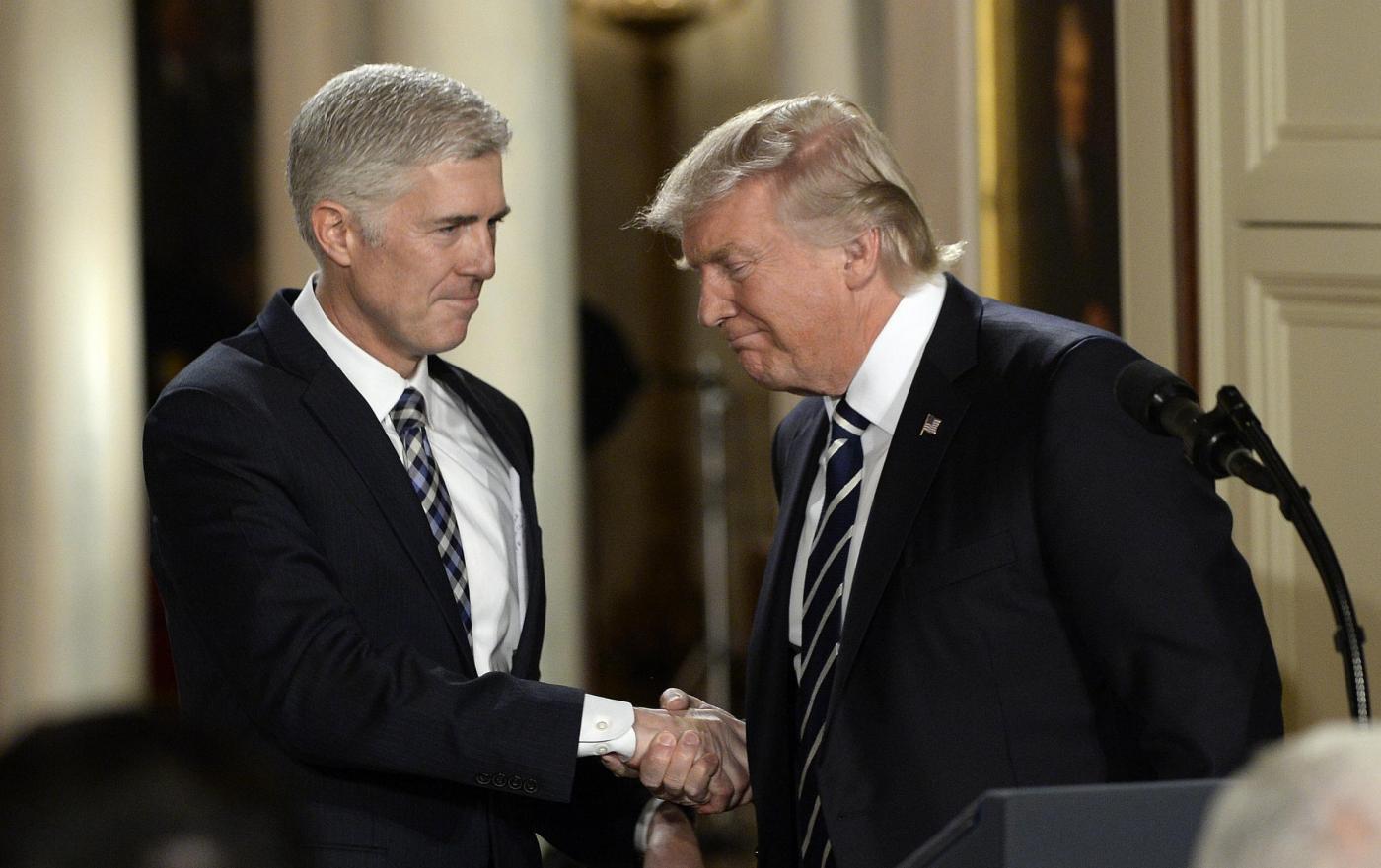 Trump nomina il conservatore Gorsuch alla Corte Suprema