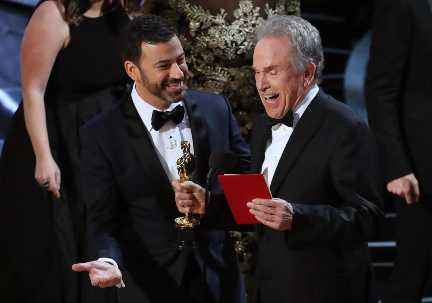 Oscar 2017 gaffe Warren Beatty