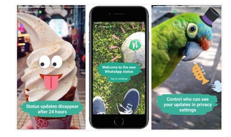 WhatsApp introduce le Stories, scopriamo come funzionano