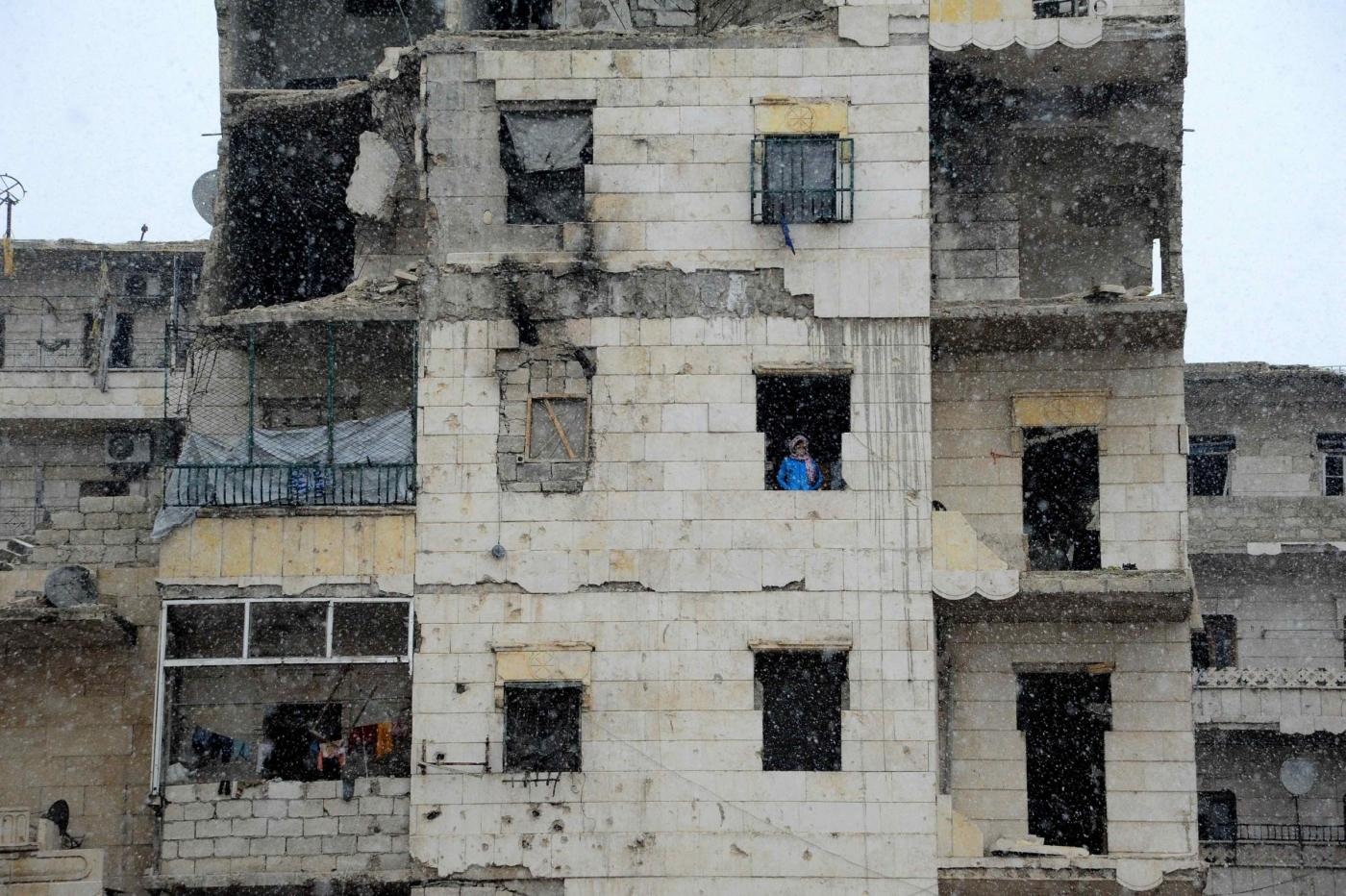 Siria: la guerra, la distruzione di Aleppo, in una foto simbolo