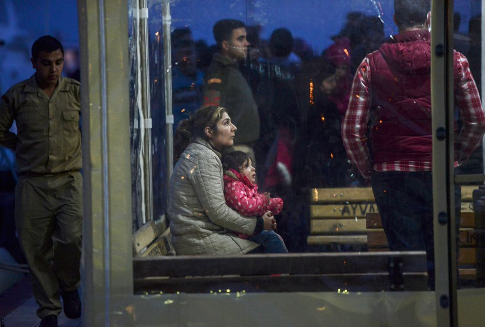 Bambini profughi