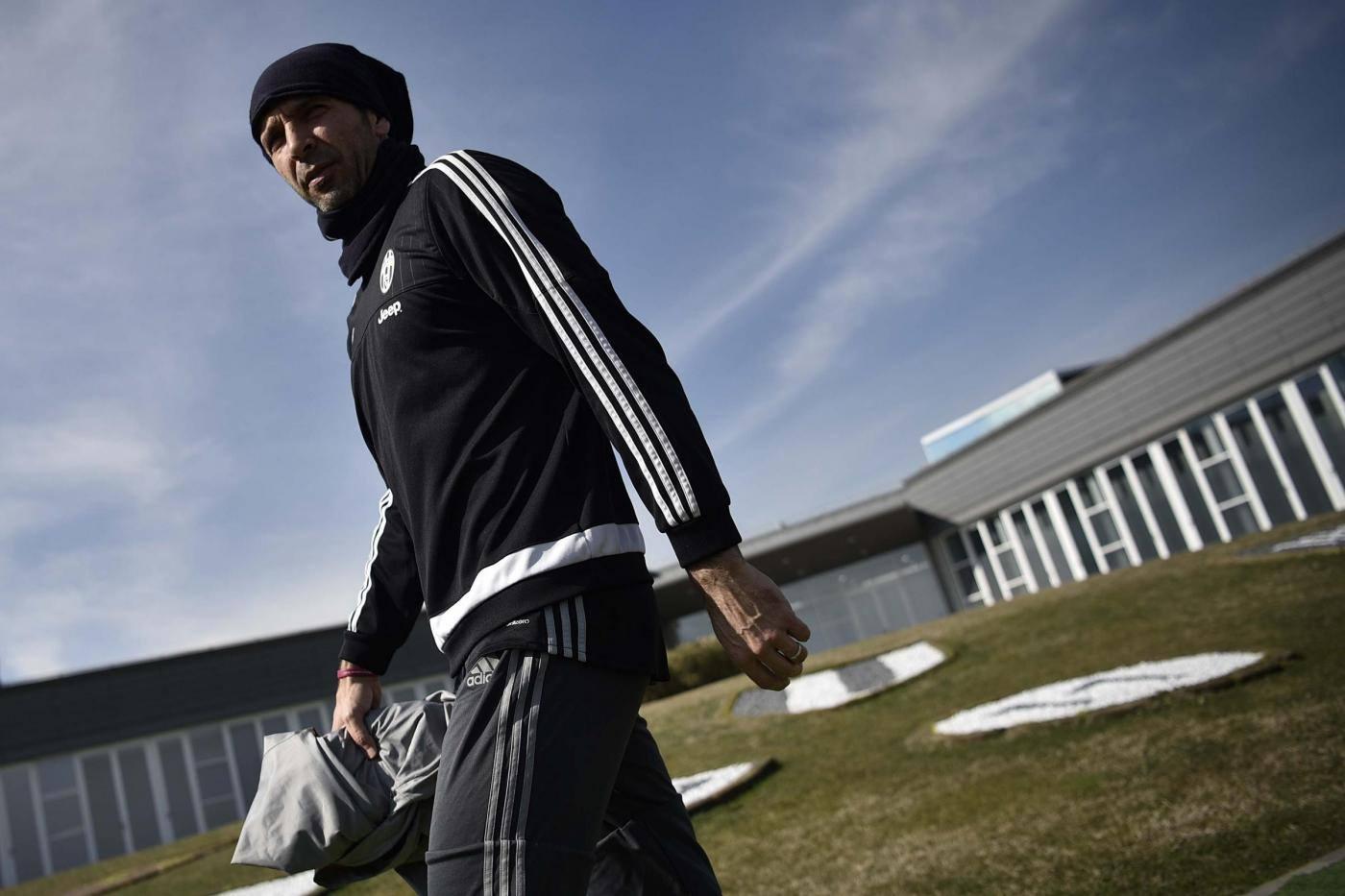 Allenamento della Juventus a Vinovo