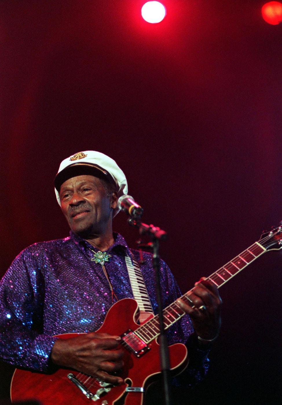 Chuck Berry death