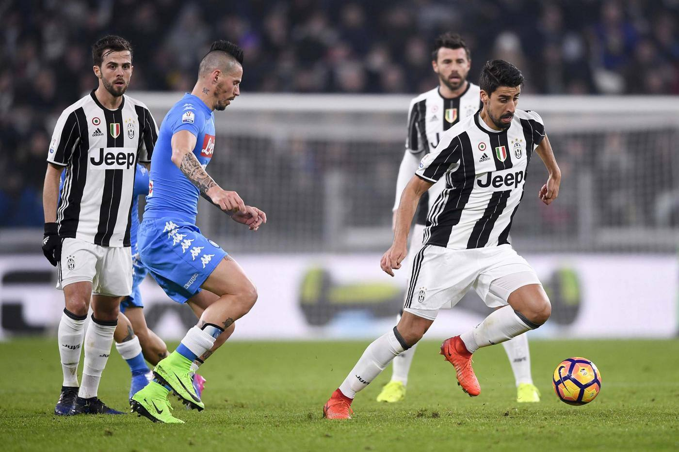 Napoli-Juventus: probabili formazioni