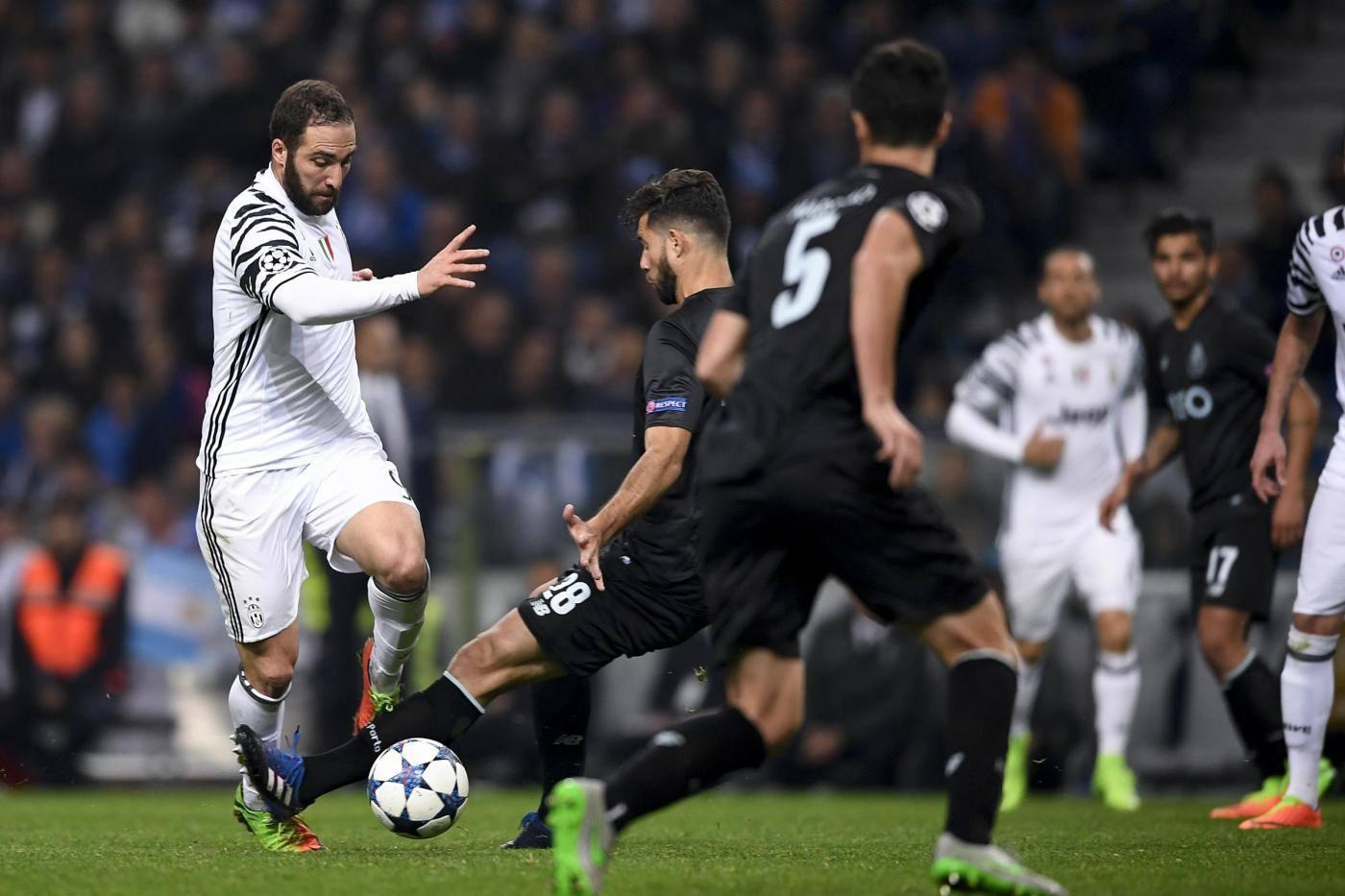 Juventus-Porto: formazioni probabili della partita di Champions League
