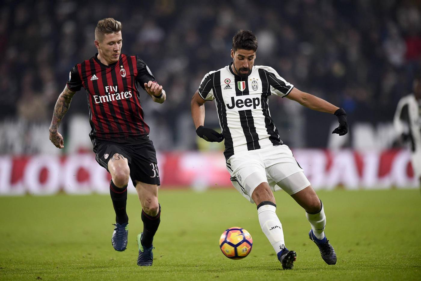Juventus vs Milan Coppa Italia 2016/2017