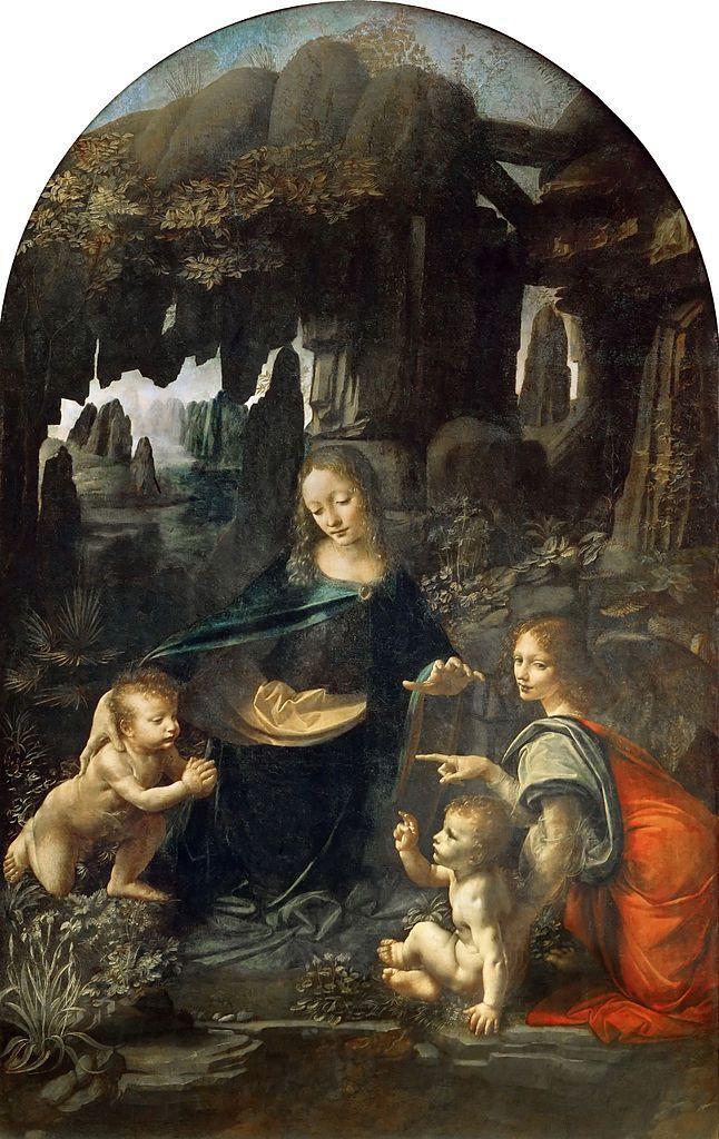 La Vergine delle rocce di Leonardo nasconde un segreto: c'è un cane oltre la siepe