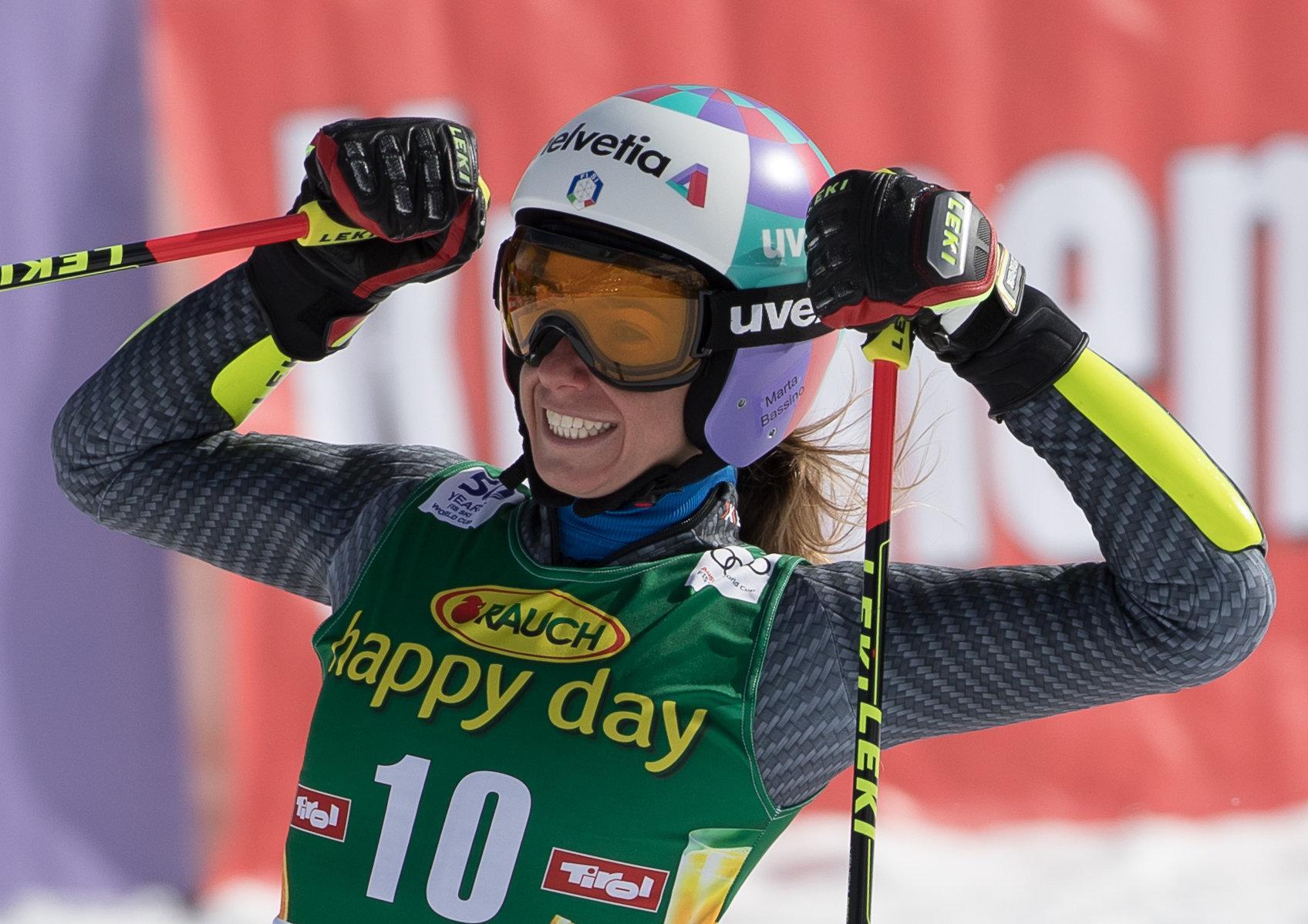 Slalom Gigante Femminile a Soelden: terzo posto per Marta Bassino
