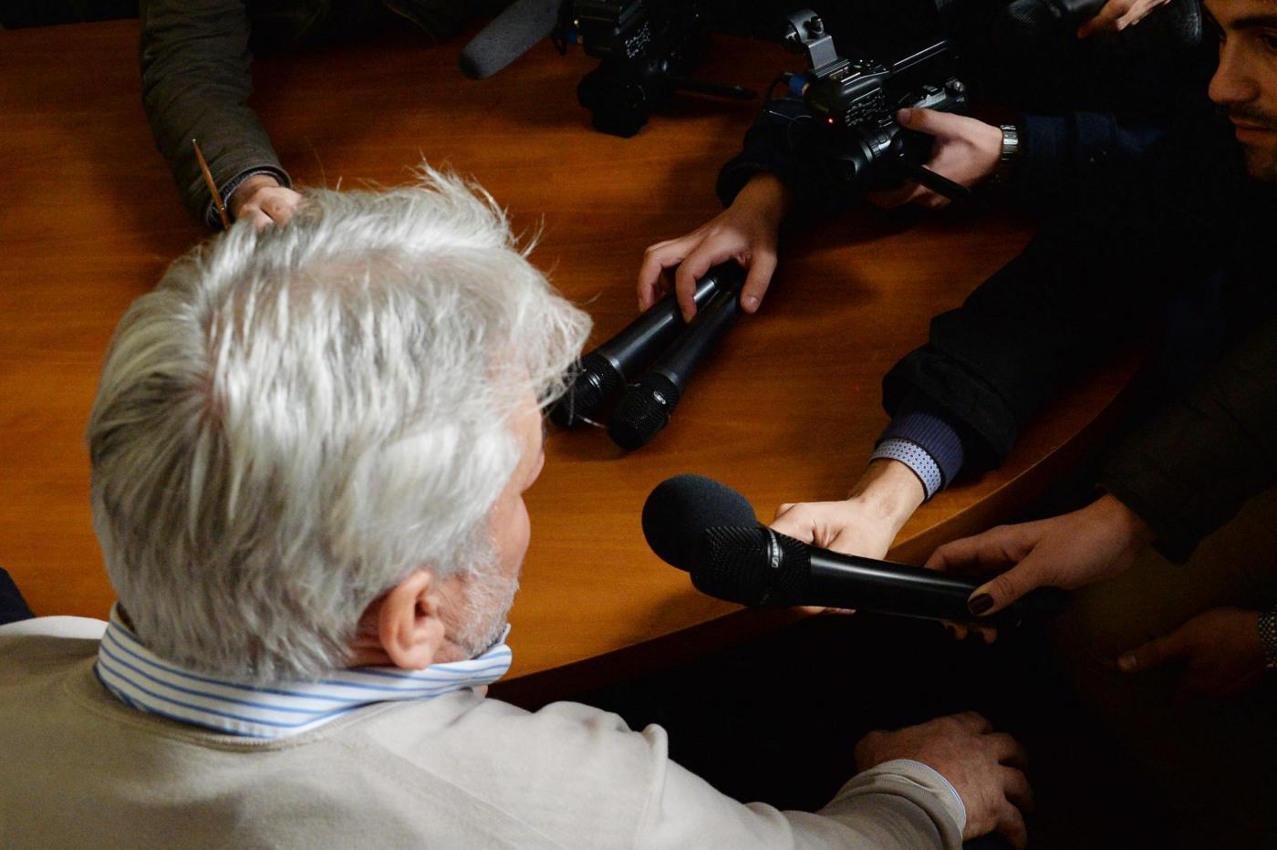 conferenza stampa di Rodolfo Corazzo