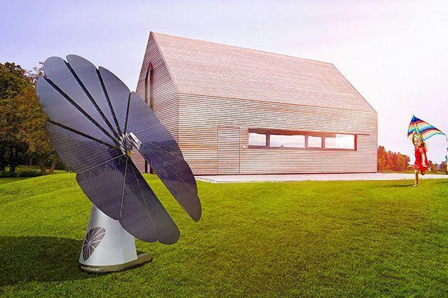Smartflower, il girasole fotovoltaico efficiente e originale