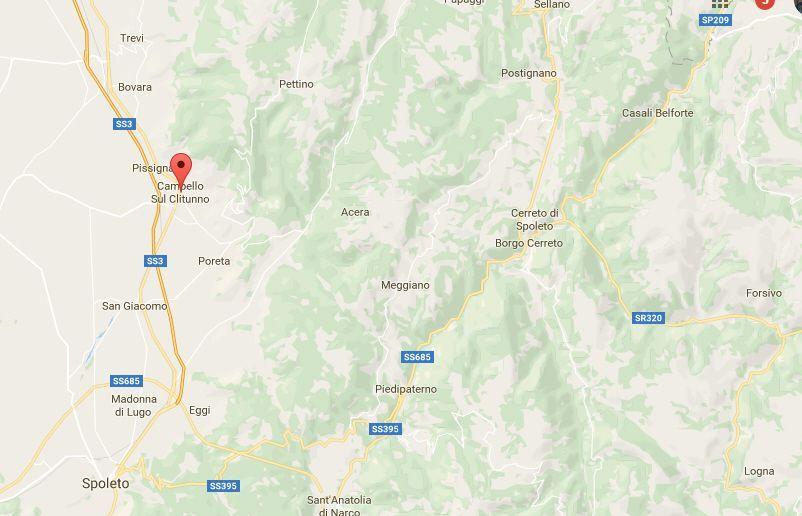 Terremoto in Umbria, oggi, 13 marzo 2017: colpita la provincia di Perugia
