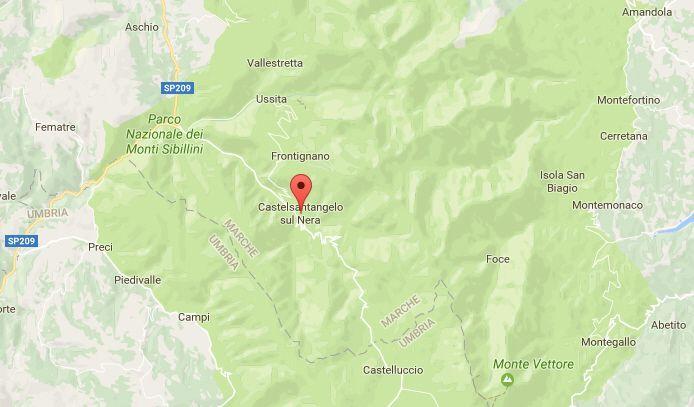 Terremoto nelle Marche, oggi, 9 marzo 2017: scossa di magnitudo 2.5