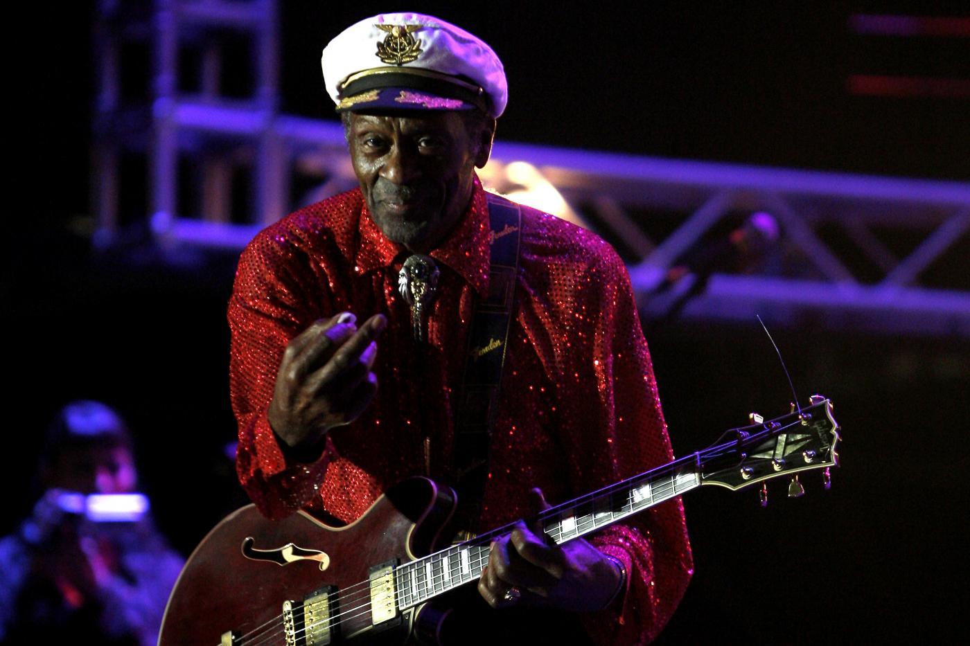 Chuck Berry morto