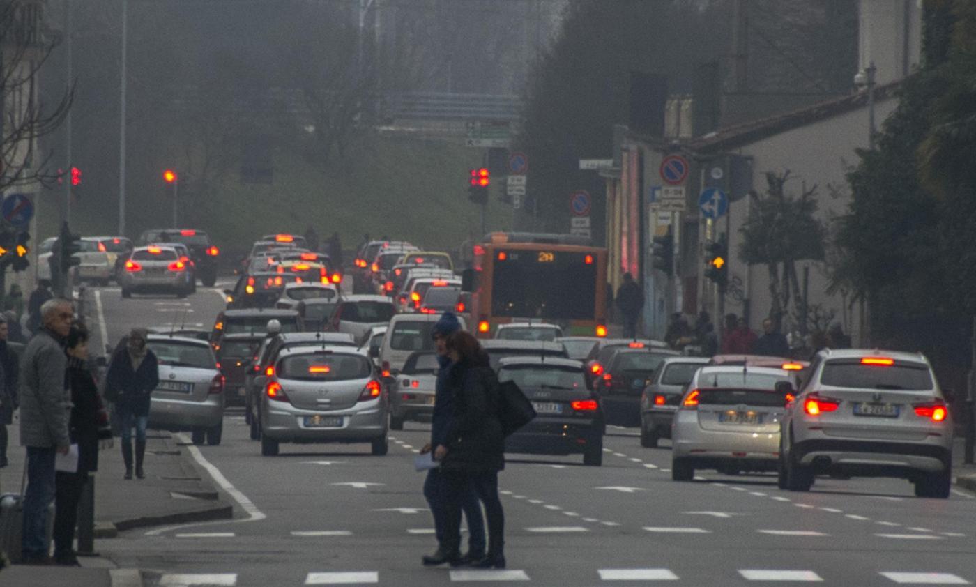 inquinamento e traffico