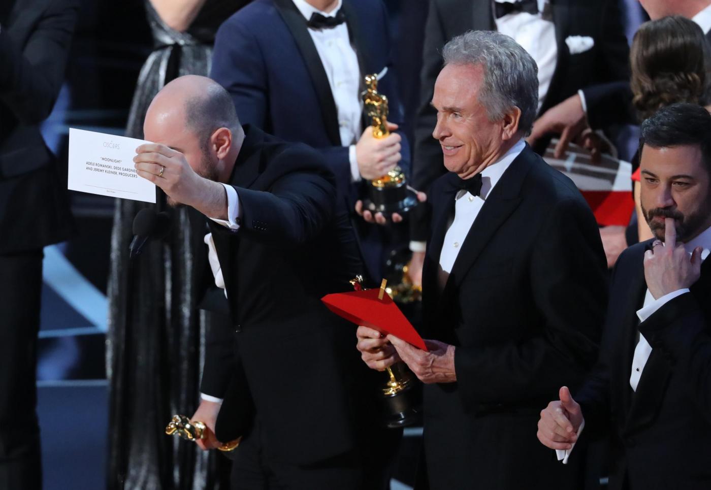Oscar 2017 errore