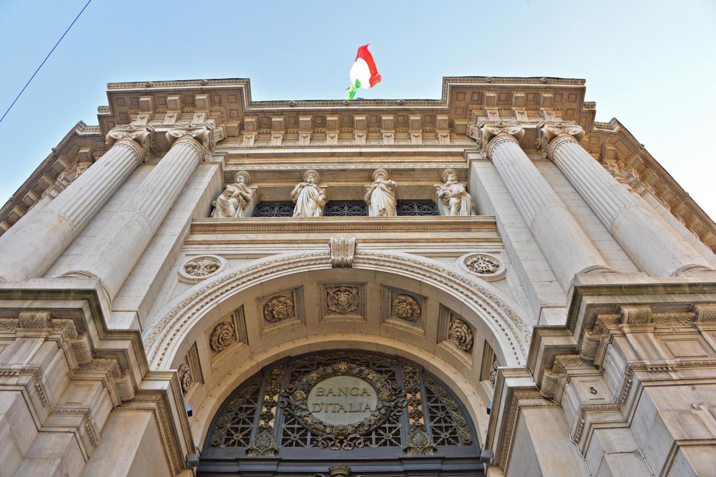 Palazzo banca d'Italia, milano