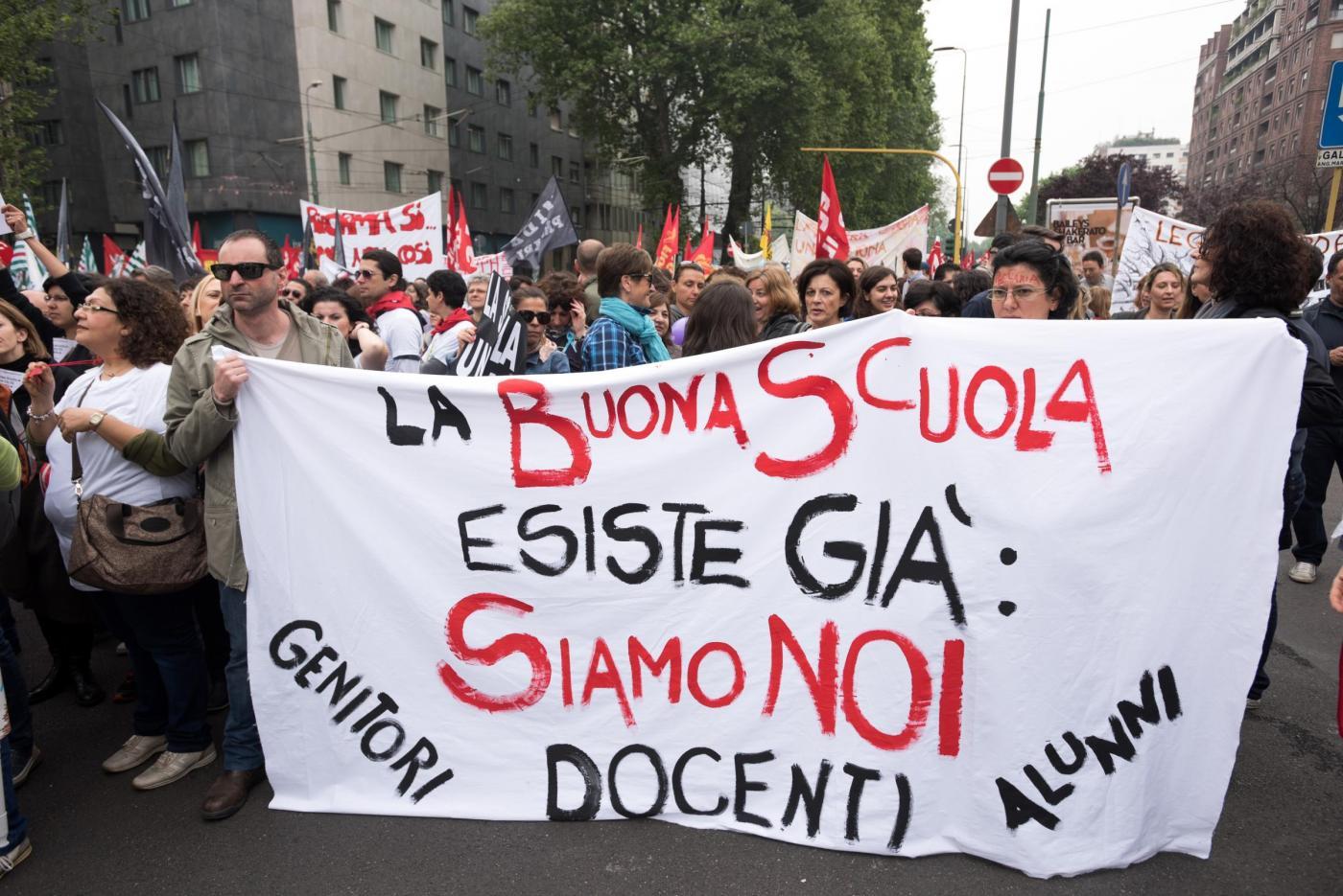 Sciopero scuola 17 marzo 2017 contro la legge 107: lezioni a rischio e manifestazioni in 10 città
