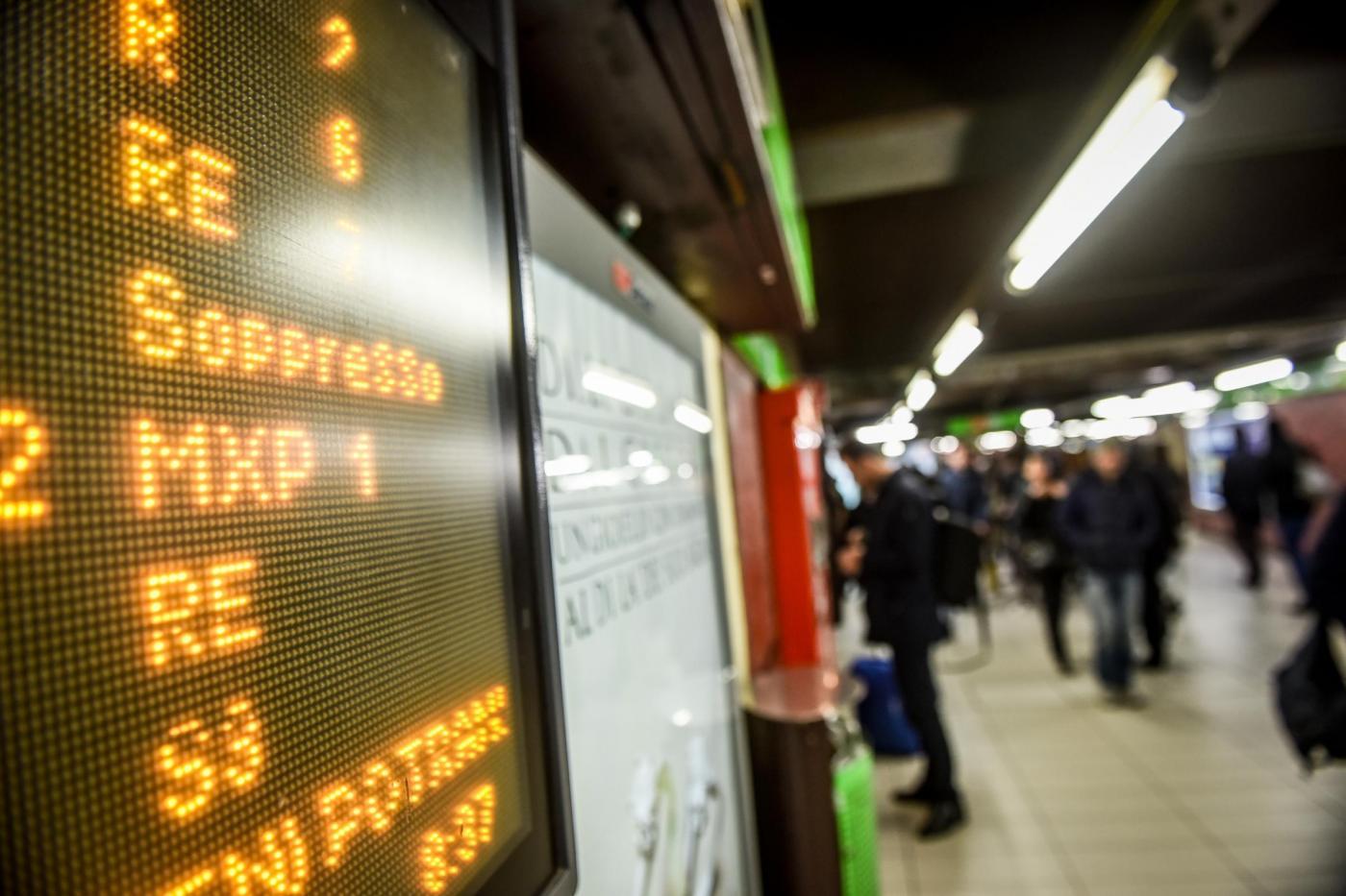 Milano, sciopero dei mezzi di trasporto