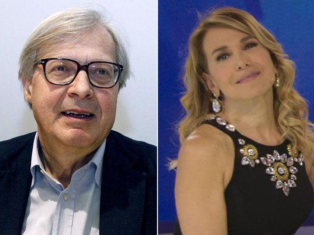 Vittorio Sgarbi vs. Barbara D'Urso: 'Che ne sai tu del mio vitalizio?'