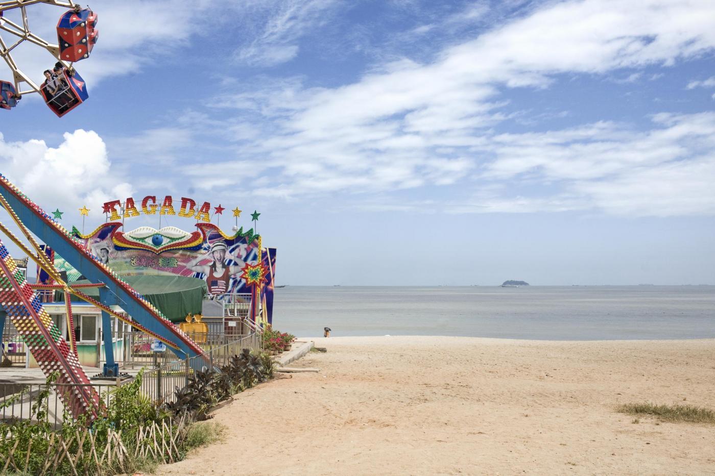 Cina, tempo libero in spiaggia
