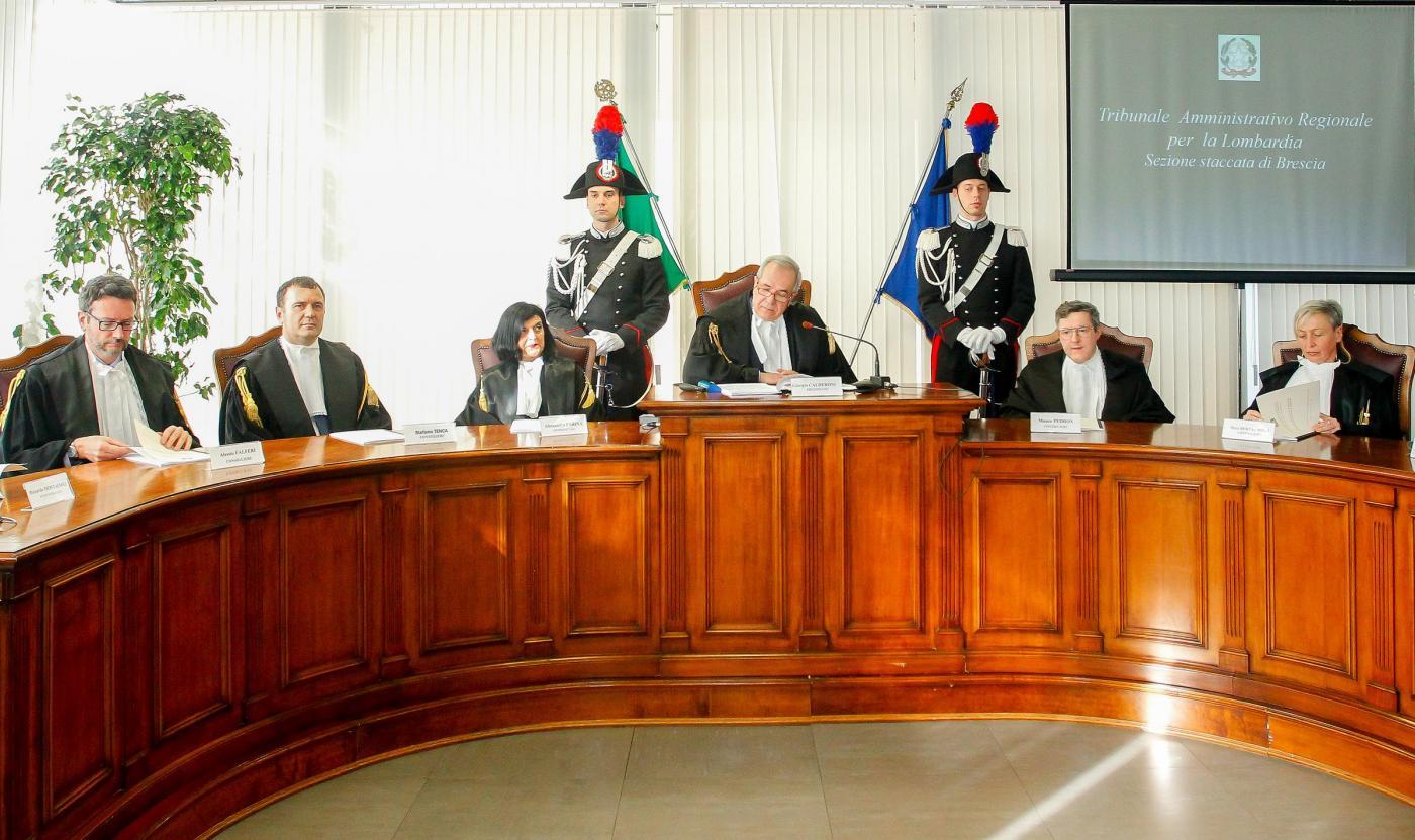 Brescia , Inaugurazione anno giudiziario