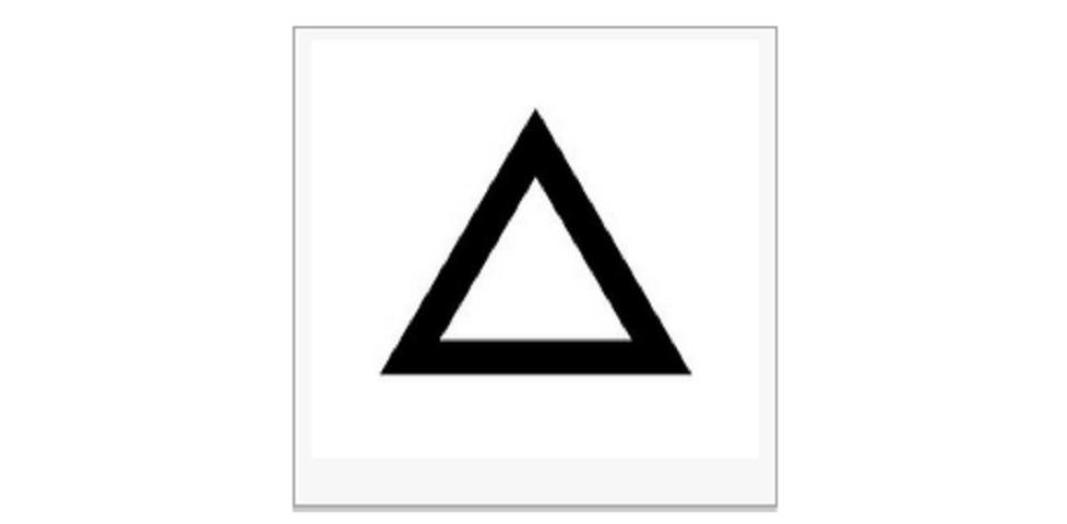 test personalita triangolo