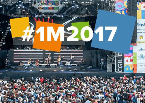 Concerto Primo Maggio Roma 2017 artisti cantanti scaletta come vederlo in streaming