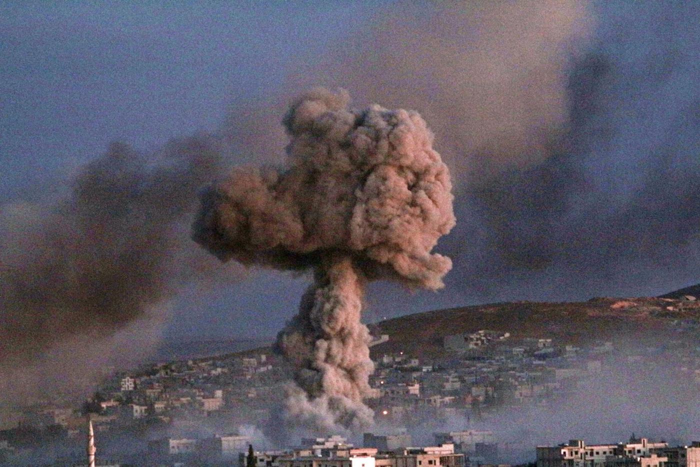 Gas Sarin nervino usato in Siria