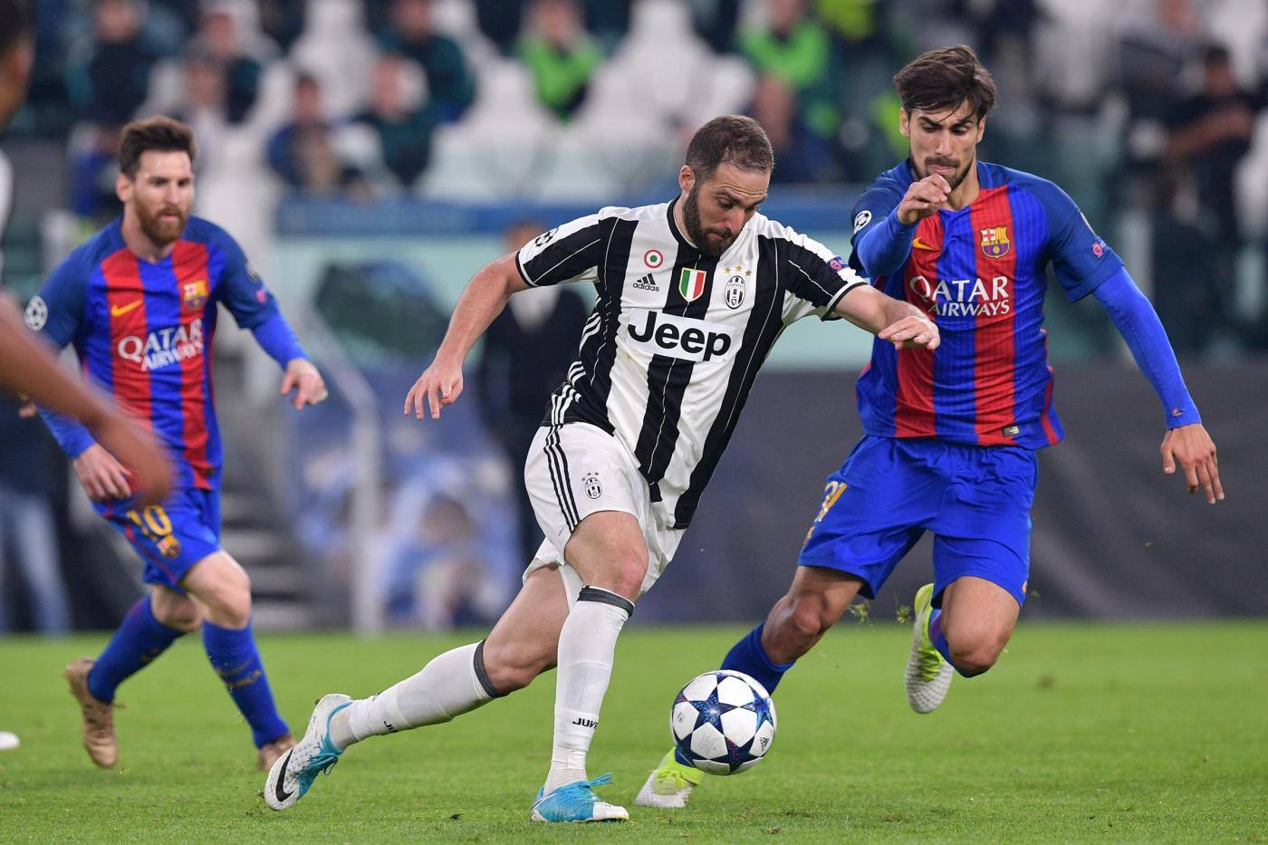 Barcellona-Juventus: formazioni
