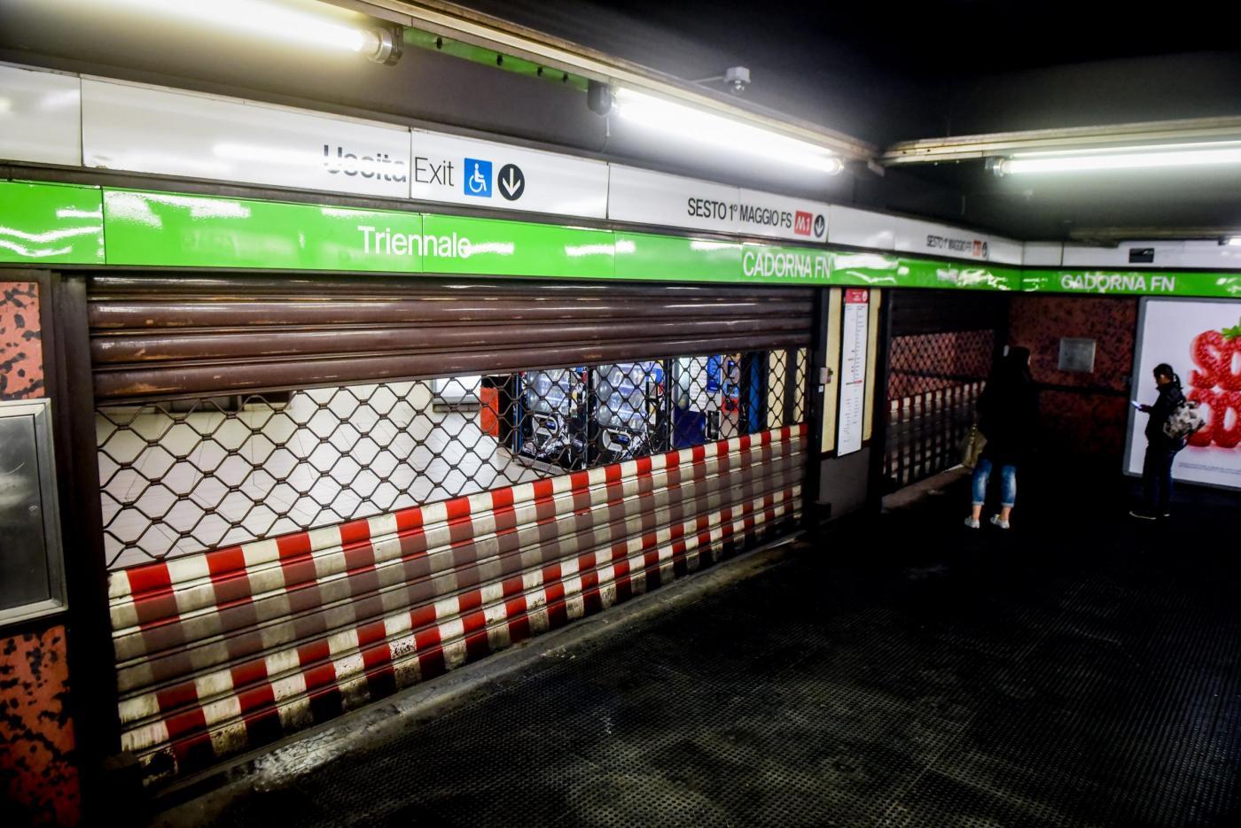 Sciopero dei mezzi pubblici ATM a Milano