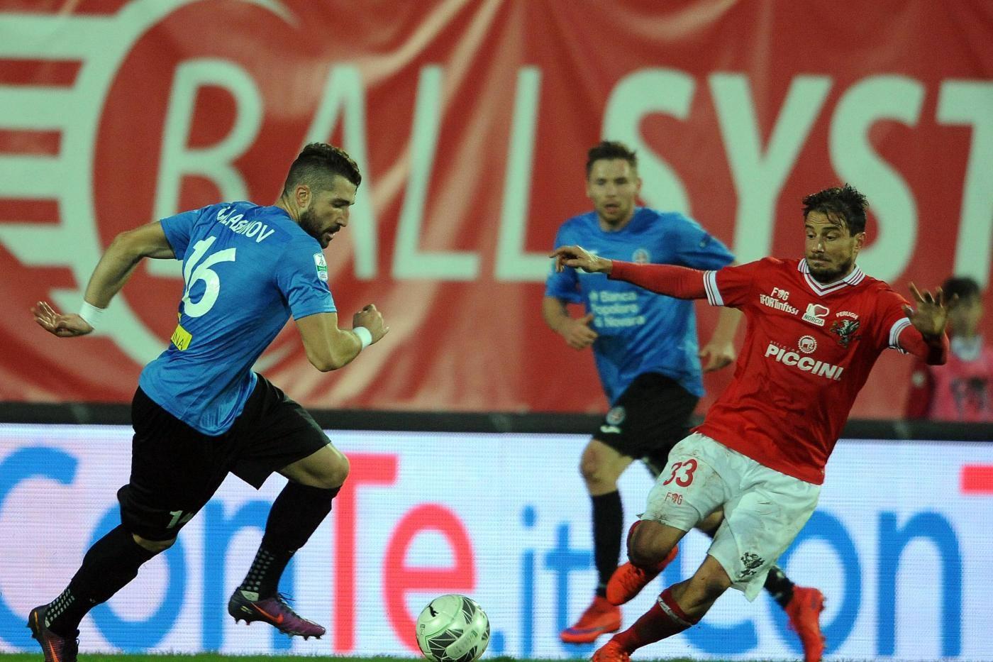 Novara Perugia: formazioni della partita della 37a giornata di Serie B