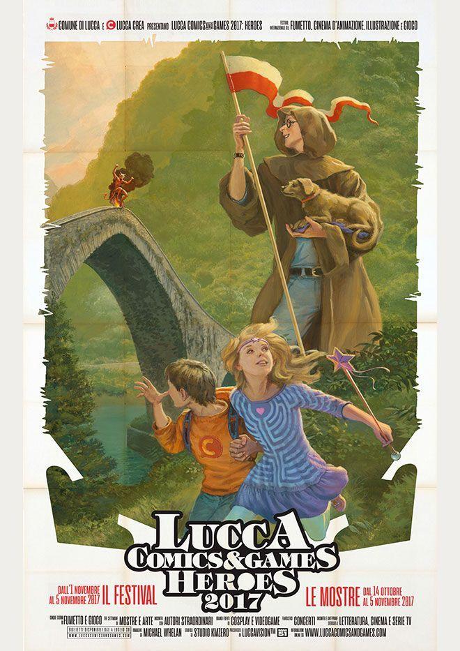 Poster Lucca Comics 2017