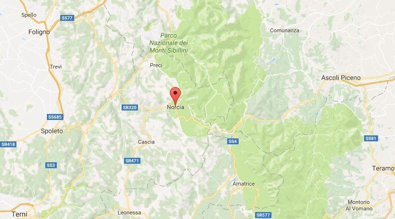 Terremoto in Umbria, oggi 27 aprile 2017: scosse anche in altri Comuni del Centro Italia