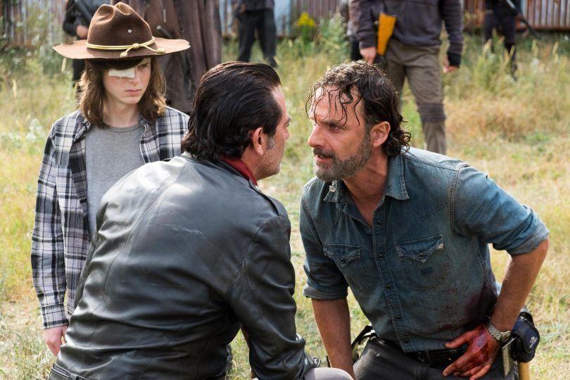 The Walking Dead: la settima stagione si chiude con l'inizio della guerra