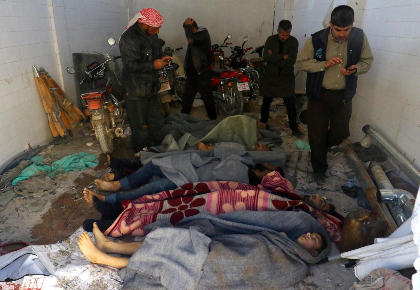 Sospetto attacco chimico a Idlib: strage di bambini